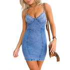 New design Spring Summer big size fashion cowboy style casual women dress office