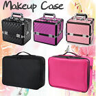 7 In 1 Portable Cosmetics Beauty Case Makeup Storage Box Carry Organiser Trolley