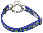 10-Country Brook Design® Half Check Dog Collars-Various Designs Available