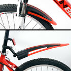 Mountain MTB Road Bicycle Riding Bike Front Rear Mud Guards Plate Fenders Set