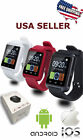 Bluetooth Smart Wrist Watch Phone Mate For iOS Android Samsung iPhone LG HTC