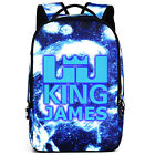 LeBron James backpack male and female students backpack schoolbag Noctilucent