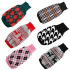 Pet Puppy Dog Cat Warm Sweater Knit Clothes Coat Apparel Costumes OutwearXS-XXL