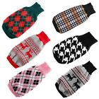 Pet Puppy Dog Cat Warm Sweater Knit Clothes Coat Apparel Costumes Outwear XS-XXL