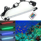 48/38/28/18 LED Waterproof LED Bar Submersible Aquarium Lamp Fish Tank lights