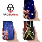 Flag Luxury Flip Cover Wallet Card PU Leather Phone Case Stand iPhone