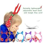 Multi Color iClever kids wired headphone with cat ear 85dB Volume Restriction