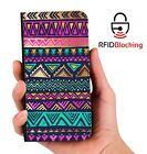Genuine MYBFF Aztec Art PU Leather Phone Wallet Case Cover Samsung Galaxy
