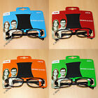 CHEAP BARGAIN READING GLASSES + POUCH MENS WOMENS UNISEX BUDGET READY READERS