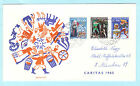 LUXEMBURG LUXEMBOURG FDC Brief Cover Lettre SST Slogan - Cept Kunst u.a. Motive