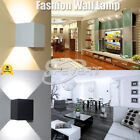 In/Outdoor Waterproof 7W Cube COB 2 LED Wall Light UP&Down Warm/Cool Lamp SP