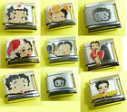 Betty Boop Italian Charm fits Nomination 9mm classic size bracelet link $4.98 USD