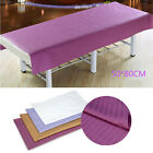 Beauty Massage SPA Treatment Soft Cotton Stripe Bed Table Cover Sheet 50*80cm LJ image