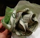 ROSE FLOWER S Money Origami from Real US $1 Dollar Bills