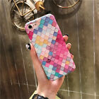 New Mermaid 3D Scales Squama Hard Back Case Cover For iPhone 6S 6Plus 7 7Plus