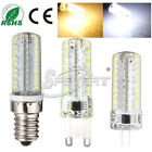New G9 E14 G4 72 LED 3014 SMD Dimmable Silicone Crystal Light Bombilla Lámpara S