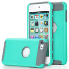 For iPod Touch 5 5th / 6 6th Gen Hybrid Rubber Shockproof Hard Case Cover