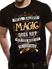 Harry Potter Magic Wands Wizard Official Unisex Black Official Licensed T-Shirt