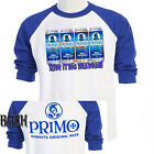 "HAWAII PRIMO BEER,""Ride it Big Braddah"" Cool, T-SHIRTs Size: S-5X,T-856Blue"
