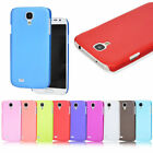 Plastic Back Cover Case For Samsung Galaxy S4 IV i9500 i9505 10 Pure Color New
