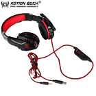 EACH G9000 3.5mm Gaming Headphone Microphone USB Headset LED Light For PS4 XP