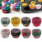 100PCs Cupcake Paper Cake Liner Case Wrapper Muffin Baking Cup Case Home Party