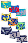 Boys PACK of 3 Trunk Fit Camo Dino Stars Underpants Boxer Briefs 2 to 13 Years