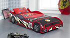 Single Blue/Red Kids Racing Car Bed NO 21
