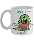 T-Rex I Love You This Much Mug