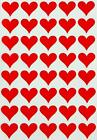 Craft Party Wedding Fun Decoration Stickers Small Heart Labels For Art 200 Pack