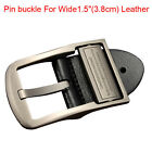 "2017 Top quality alloy men's Belt buckle pin buckle For Wide 1.5""(3.8cm) Leather"