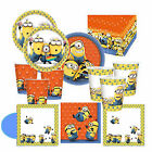 Minion Despicable Me Minions Birthday Party Tableware Decorations CLEARANCE