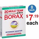 20 Mule Team, BORAX Detergent Booster Cleaner, 4 LBS, 1.84kg - (Pack Of 8 Boxes)