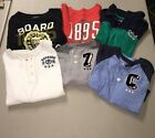 EUC-Lot-of-6 Oshkosh Boys Long Sleeve Various Material and Designs, Size 7