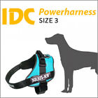 IDC Powerharness Size 3 Julius-K9 Dog Harness Made in Germany VARIOUS COLOURS