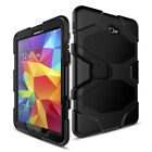Hybrid Armor Rugged Hard Case Cover Kickstand For Samsung Galaxy Tab A E 3 4 S2