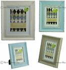 Shabby & Chic Vintage Pastel Distressed Photo Frames 3 Colours 6x4,7x5,10x8