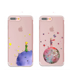 Little Prince Iphone Case Silicone Transparent Cover Cartoon Le Petit Prince