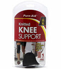 Pure-Aid Knitted Elbow, Ankle or Knee Support Uniform Compression S,  LG/XL