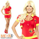 Deluxe Baywatch Lifeguard Ladies Fancy Dress 1990s TV Adults Celebrity Costume