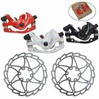 MTB Mountain Bike Bicycle Front&Rear Disk Disc Brake Calipers W/160mm Rotors