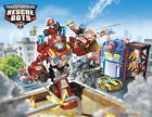 Transformers Rescue Bots Characters 1/4 or 1/2 Sheet Birthday Cake Topper Frosti