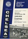 14 Chelsea Home Football Programmes 1964/65 very good conditon, from £1.25 each