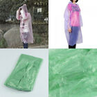 Disposable Adult Emergency Waterproof RainCoat Poncho Hiking bivouac Fishing new