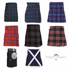 New Scottish Highland Kids Tartan Scottish Kilt Childrens All Sized - 0 - 12 Yrs