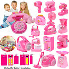 Girls Children Emulational Pretend Play Toys Kitchen Electic Home Appliances Toy