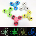 Colorful Luminous Fidget Tri Hand Spinner EDC Stocking Stuffer Toy Adult Kid