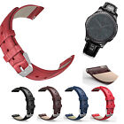 18mm 20mm 22mm Quick Release Retro Leather Watch Band Wrist Strap Bracelet