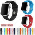 2017 Iwatch Bands Sports Silicone Bracelet Strap Band For Apple Watch 38mm/42mm