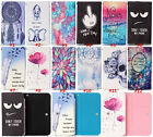 NEW Cartoon Flower Leather slot wallet pouch case skin cover 42-38 #5